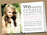 Lds Baptism Invite Wording Lds Baptism Invitations order Lds Baptism Invitations