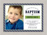 Lds Baptism Invites Lds Baptism Invitation Cooper by Announcingyou On Etsy