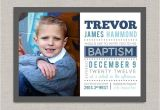 Lds Baptism Invites Lds Baptism Invitation Trevor