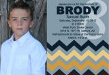 Lds Boy Baptism Invitations Adorable Chevron Lds Boy Baptism Invitation by Jisforjordy