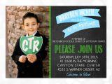 Lds Boy Baptism Invitations Lds Baptism Invitation for Boy Chalkboard Blue Baptism