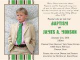 Lds Boy Baptism Invitations Lds Boy Baptism Invitations Stripes