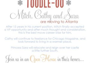 Leaving Job Party Invitation Farewell Goodbye Party Digital File Only Print Options