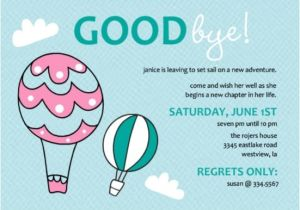 Leaving Job Party Invitation Going Away Party Ideas Great Bon Voyage Party Ideas and