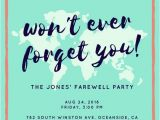 Leaving Party Invitation Customize 3 999 Farewell Party Invitation Templates