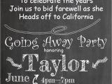 Leaving Party Invitation Going Away Party Invitations New Selections 2017
