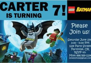Lego Batman Party Invitations Free Printable Batman Birthday Invitations Printable