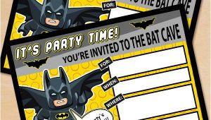 Lego Batman Party Invitations Free Printable Free Printable Lego Batman Birthday Invitation