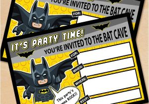 Lego Batman Party Invitations Free Printable Free Printable Lego Batman Birthday Invitation