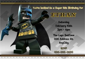 Lego Batman Party Invitations Free Printable Lego Batman Birthday Invitation Printable Lego Batman Invite