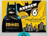 Lego Batman Party Invitations Free Printable Lego Batman Invitation Lego Batman Birthday Lego Batman