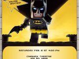 Lego Batman Party Invitations Free Printable Lego Batman Movie 2017 Birthday Invitation