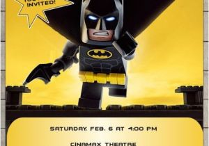 Lego Batman Party Invitations Free Printable Lego Batman Movie 2017 Birthday Invitation