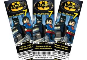 Lego Batman Party Invitations Free Printable Lego Batman Party Invitations Printable