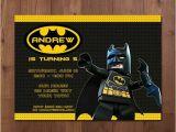 Lego Batman Party Invitations Free Printable Lego Batman Superhero Birthday Party Invitation Printable