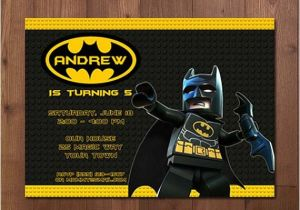 Lego Batman Party Invitations Free Printable Lego Batman Superhero Birthday Party Invitation Printable