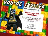 Lego Batman Party Invitations Free Printable Lego Birthday Invitation Lego Movie Lego Batman by