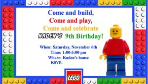 Lego Birthday Invitation Template Let 39 S Panic Lego Birthday Party