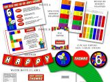 Lego Birthday Party Invitation Free Template 9 Best Images Of Lego Birthday Printables Lego Party