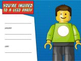 Lego Birthday Party Invitation Free Template Free Printable Lego Birthday Invitation Template