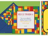 Lego Party Invitations Free Online Children S Parties La Belle Blog