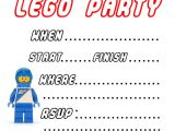 Lego Party Invitations Free Online Free Printable Lego Birthday Party Invitations U Me and