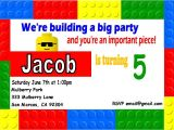 Lego Party Invitations Free Online Lego Birthday Invitation Templates Printables Ideas