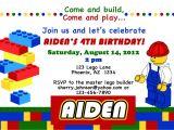 Lego Party Invitations Free Online Lego themed Birthday Party Invitations Dolanpedia