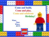 Lego Party Invitations Free Online Let 39 S Panic Lego Birthday Party