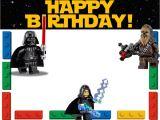 Lego Star Wars Birthday Invitation Template Free Printable Lego Invitation Templates