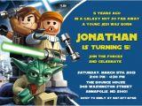 Lego Star Wars Birthday Invitation Template Printable Star Wars Birthday Invitations