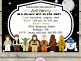 Lego Star Wars Birthday Invitation Template Star Wars Lego Birthday Party Ideas Invitations