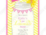 Lemonade Birthday Party Invitations Pink Lemonade Printable Invitation 1 Diy