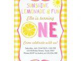 Lemonade Birthday Party Invitations Sunshine and Lemonade Sunshine Birthday Invitation