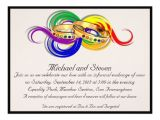 Lesbian Wedding Invitations Wording Custom Gay Wedding Invitations Non formal Zazzle