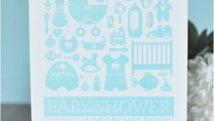 Letterpress Baby Shower Invitations Letterpress Baby Shower Invitations Paper Crave
