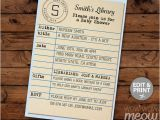 Library Card Baby Shower Invitation Template Library Card Blue Baby Shower Invitation It S A Boy Book