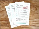 Library themed Baby Shower Invitations Library Book themed Baby Shower Invitation Customized