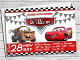 Lightning Mcqueen and Mater Birthday Invitations Cars Birthday Invitation Mater and Lightning Mcqueen Birthday