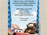 Lightning Mcqueen and Mater Birthday Invitations Cars Lightning Mcqueen Mater Birthday Invitations Baby