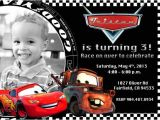 Lightning Mcqueen and Mater Birthday Invitations Disney Cars Lightning Mcqueen Mater Birthday Party