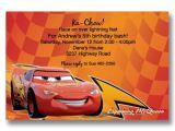 Lightning Mcqueen Birthday Party Invitations Cars Lightning Mcqueen Birthday Invitations Flickr