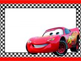 Lightning Mcqueen Birthday Party Invitations Free Cars Lightning Mcqueen Printable Template Free Printable