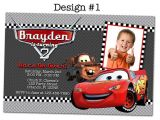 Lightning Mcqueen Birthday Party Invitations Lightning Mcqueen Birthday Party Ideas Disney Pixar Cars