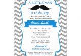 Lil Man Baby Shower Invitations Little Man Mustache Baby Shower Invitation