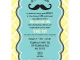 Lil Man Baby Shower Invitations Little Man Mustache Baby Shower Printable Invitation