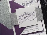 Lilac and Silver Wedding Invitations Lavender and Silver Wedding Invitations Teatroditirambo org