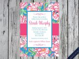 Lilly Pulitzer Birthday Invitations Lilly Pulitzer Birthday Invitations Best Party Ideas