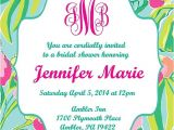 Lilly Pulitzer Birthday Invitations Lilly Pulitzer Inspired Invitation Printable Customizable