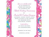 Lilly Pulitzer Birthday Invitations Lilly Pulitzer Lucky Charms Invitation